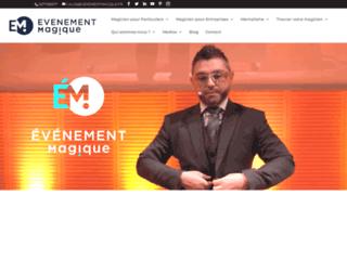 Détails : Le magicien close-up Calix de Lyon
