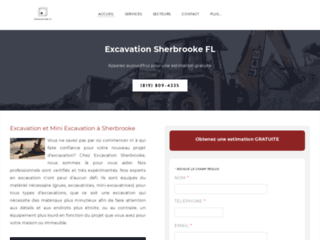 Excavation Sherbrooke QC