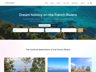 Yacht charters and luxury villa rentals on the French Riviera