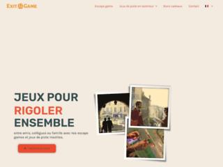 Jeux de piste et idées cadeaux avec Exit Game à Aix