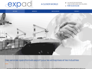 Détails : Expad Savoie, services opérationnels et export, Notre-Dame-des-Millières