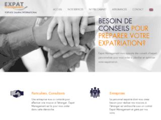 Détails : Expat Management