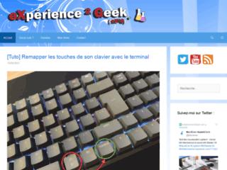 eXpérience 2 Geek
