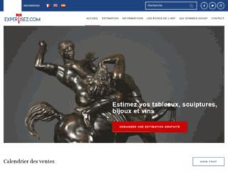 Détails : Expertisez.com, de l'estimation à la vente d'objets d'art