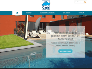 Oasis Piscines : Professionnel de la piscine entre Belfort et Montbéliard