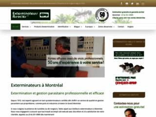 Détails : Exterminateurs à Montréal - Exterminateurs Associés