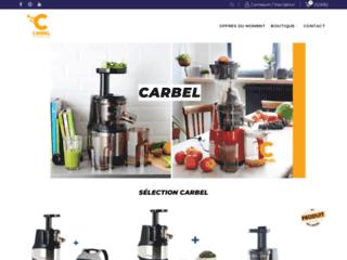 Détails : Extracteur de jus Carbel et Hurom