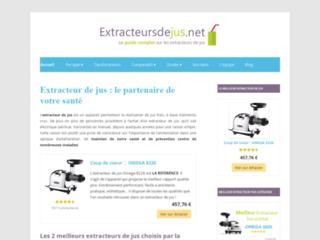 Le guide sur les extracteurs de jus