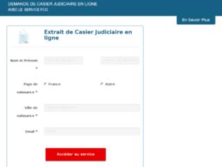 Détails : extrait-casier-judiciaire.org