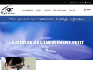Détails : Eye-Resolution, aides optiques pour professionnels