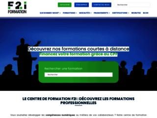 Détails : www.f2i-formation.fr