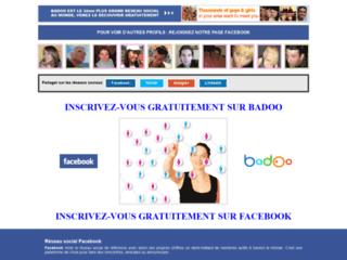 Détails : Accédez à Facebook pour des rencontres