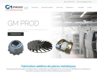 GM PROD : Centre de fabrication additive de pièces métalliques situé à Lyon