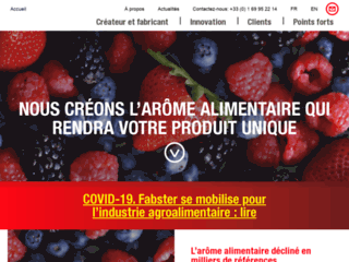 Fabster, fabriquant d'arôme alimentaire