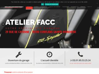 Préparation de votre Porsche FACC à Nanterre