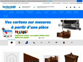 Détails : Cartons d'emballage