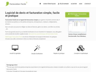 Détails : Un logiciel de facturation simplifié