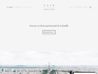 Détails : Fain Avocats, cabinet d'avocats à Paris