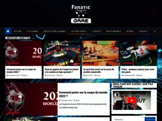Détails : FanatiC Game : PS3, Xbox 360, Wii, Jeux Vidéo