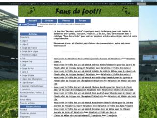 Fan de foot rital 57