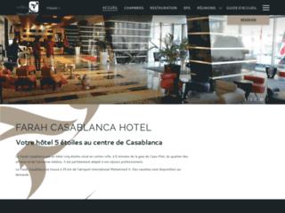 Détails : Hôtel Farah Casablanca, hôtel de luxe à Casablanca