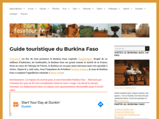 BURKINA FASO Guide Touristique du Burkina Faso