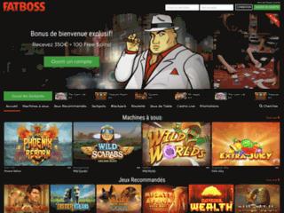 Détails : Fatboss Casino, un casino en ligne expérimenté
