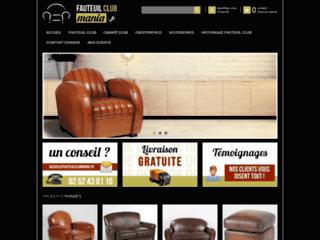 Détails : Vente Fauteuil Club - fauteuilclubmania.fr