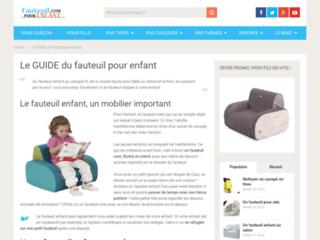 Les fauteuils pour enfants