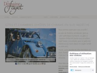 Détails : Domaine du Fayet - Maison d'hôtes ardéchoise de charme, pour des vacances de qualité