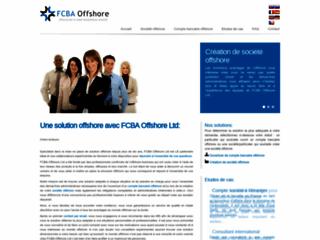 Détails : FCBA Offshore Ltd