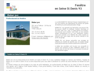 Fenêtre Seine-Saint-Denis : Devis/Déplacement Gratuits 01.42.62.10.10.