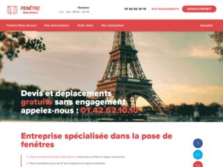 Fenêtre Paris Service