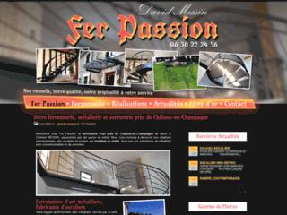 Détails : Fer Passion, ferronnier traditionnelle et ferronnerie d'art dans la Marne