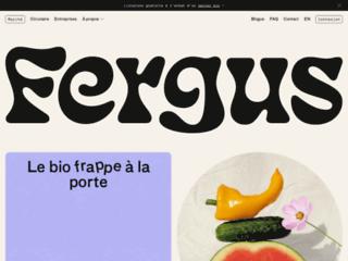 Détails : Fergus, produits bio de marché