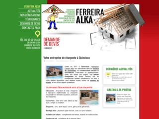 Entreprise de charpente, Ferreira Alka