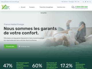 Détails : France Habitat Energie, rénovation énergétique