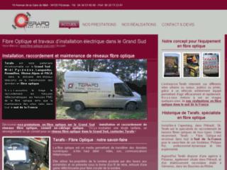 Détails : Terafo, installation et maintenance de réseaux fibre optique dans le sud