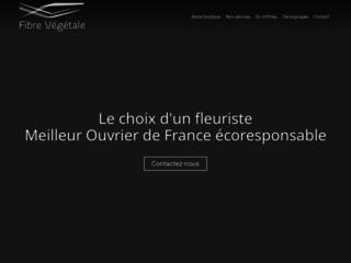 Détails : Fibre végétale, fleuriste meilleur ouvrier de France