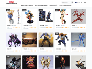 figurines-mangas.com, des figurines de mangas
