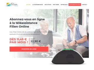 Détails : Filien Online, une solution pratique pour le suivi à distance de personnes âgées