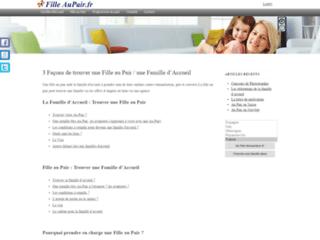 AuPair.com - Base de données des familles d'accueil et des filles au pairs