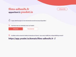 Films Adhésifs - Décoration et habillage de vitres