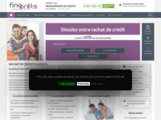 Détails : Finaprêts : rachat de crédit immobilier et consommation