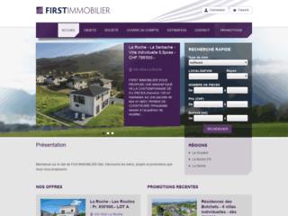 Détails : First Immobilier Sàrl - Promotions immobilières