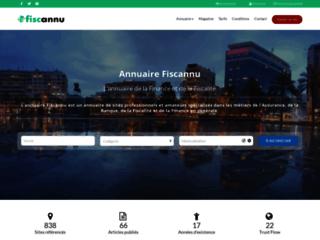 Détails : Annuaire Fiscannu, annuaire de la finance et de la fiscalité