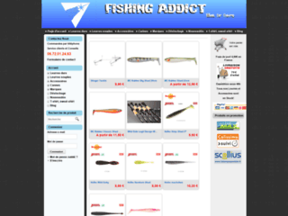 Détails : Fishing Addict - pêche leurre addiction