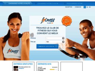 Détails : Fitness-clubs