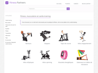 fitness-partners : fitness, musculation et cardio-training