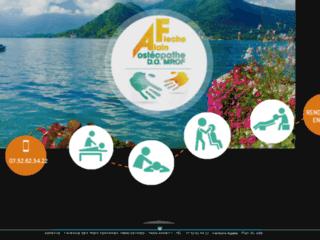 Détails : Ostéopathe adultes sportifs Annecy